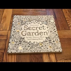 Other - 💻CYBER SALE-LAST DAY💻SecretGarden Color Book-NWT